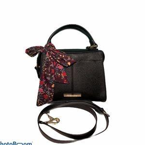 STEVE MADDEN 2 in 1 Black Bow Handbag Crossbody